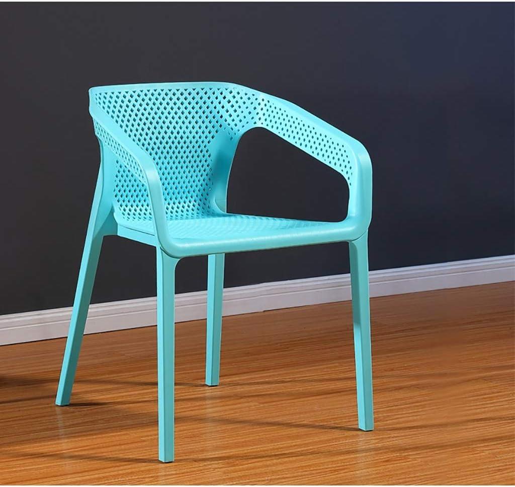 HURONG168 Chaises de cuisine Chaise de loisirs nordique accoudoir maison salle à manger chaise chaise d'ordinateur dossier chaise haute tabouret siège lounge (Couleur : F) F