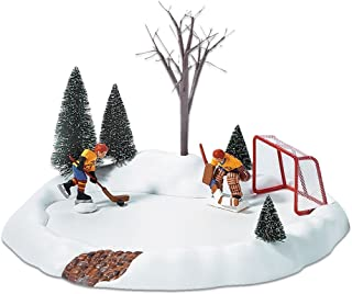 department 56 animated hockey practice