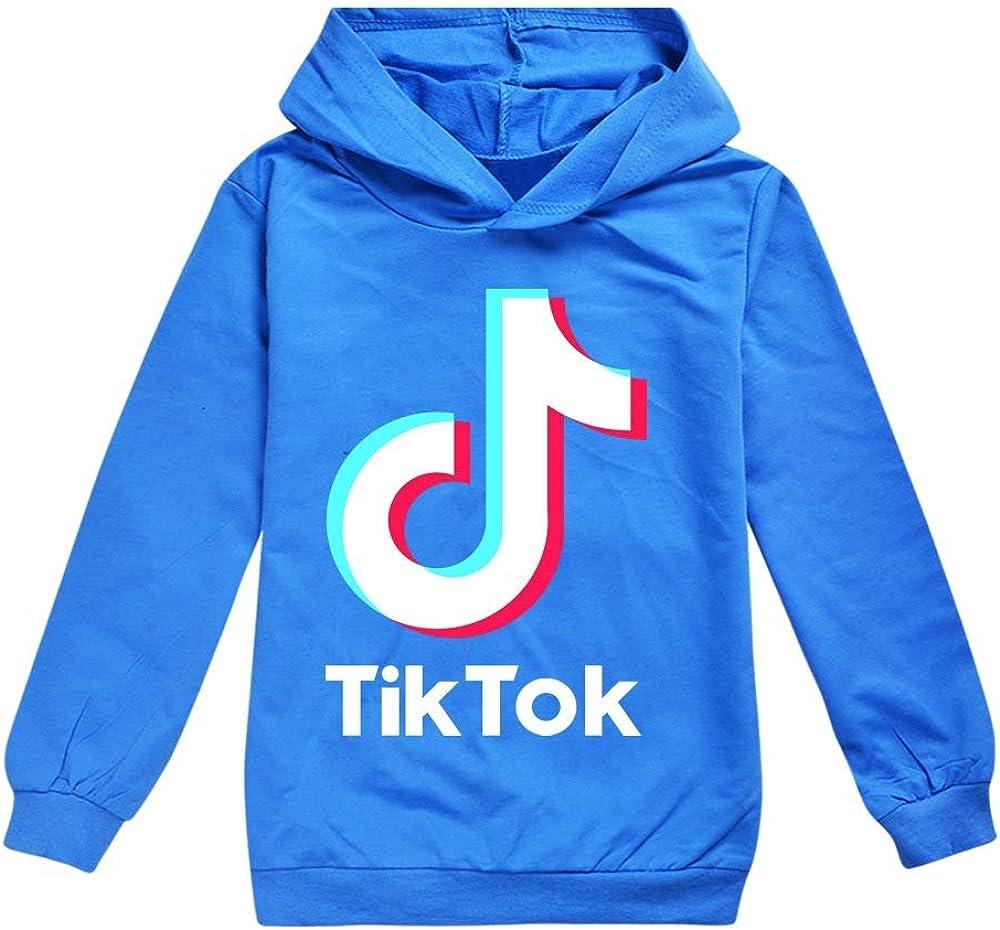 Long Sleeve Hoodie TIK-TOKs Pullover Sweatshirt Jumper Unisex Fashion Tracksuit for Boy Girls