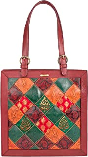 Women's Bags Leather Tote, Red