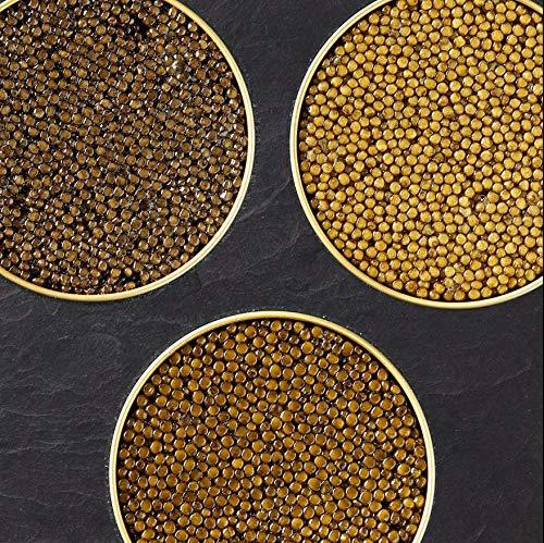 Kaviar Genießer-Set mit 3 Sorten je 125g Imperial Auslese / Ossetra Selection / Royal Baerii