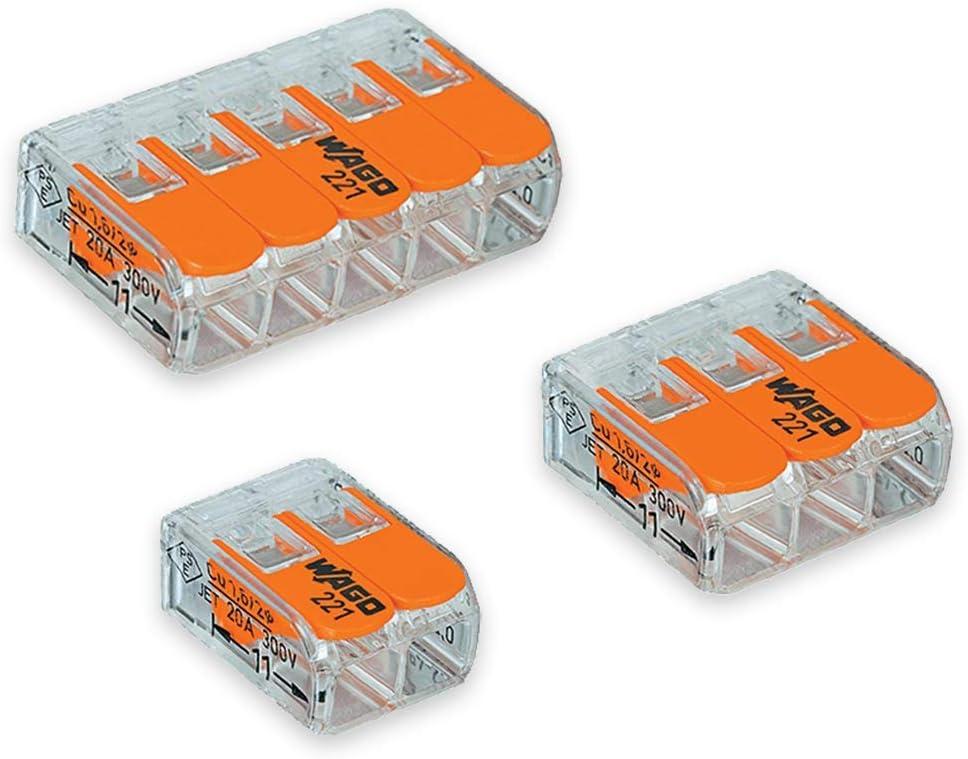 4 Pack of Wago 2 Port Splicing Sale SALE% Tulsa Mall OFF 3 5 Con 221
