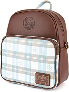 Loungefly x Harry Potter - Hogwarts Plaid Convertible Mini Backpack