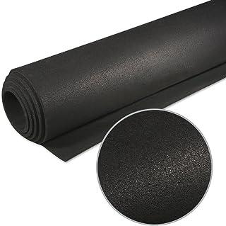 TRANR Active Noise Reduction Equipment Mats 36 x 78 6.4mm Solid Black
