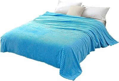 Tubytu Fuzzy Throw Blanket with Super Soft and Warm Throw Flannel Blanket