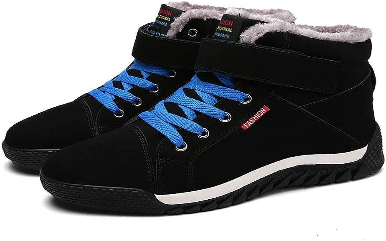 NANYDX Männer Winter Baumwolle Schuhe Hohe Hilfe Schuhe Viskose Viskose Viskose Plus Kaschmir Verschleißfest Warm halten Schuhe  6a5fa3