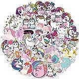 DSSK 50 Piezas Dibujos Animados Anime Pegatina Unicornio Graffiti Pegatina Cuerpo Pegatina Dibujos Animados Personalidad Coche Ordenador monopatín Guitarra Equipaje Pegatina