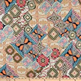 Fabtrends Dty Ethnic Patchwork-Stoff,