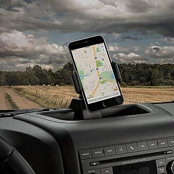 Voodonala for Jeep JK Phone Holder Mount for 2011-2018 Jeep Wrangler JK JKU, Black