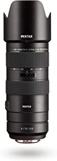 HD PENTAX-D FA 70-210mm F4ED SDM WR: Telephoto Zoom Lens for DSLR Cameras High-Performance While maintaing Constant f/4 Ap...
