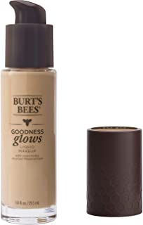 Burt's Bees Goodness Glows Liquid Makeup, Linen Beige - 1.0 Ounce