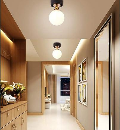 Couloir Plafonnier Lampe Salon Eclairage Chrome Plafonnier