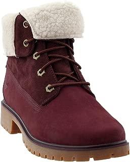 Timberland Women's Jayne Waterproof Teddy Fleece Fold Down Fashion Boot