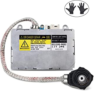 WMPHE HID Ballast with Ignitor Replaces 81107-2D020, 85967-0E020, DDLT002, KDLT002 Headlight Control Unit Module Fits for Toyota Prius, Avalon, Sienna, Lexus ES300, ES330, LS430, Lincoln Aviator
