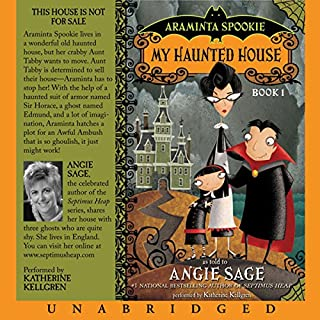 Araminta Spookie, Books 1 & 2 audiobook cover art