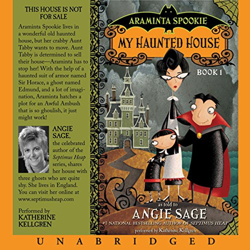 Araminta Spookie, Books 1 & 2 audiobook cover art