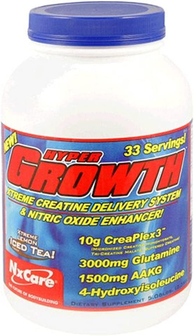 NxCare Hyper Growth Xtreme Creatine Nitric Quality inspection System Lowest price challenge O Delivery and