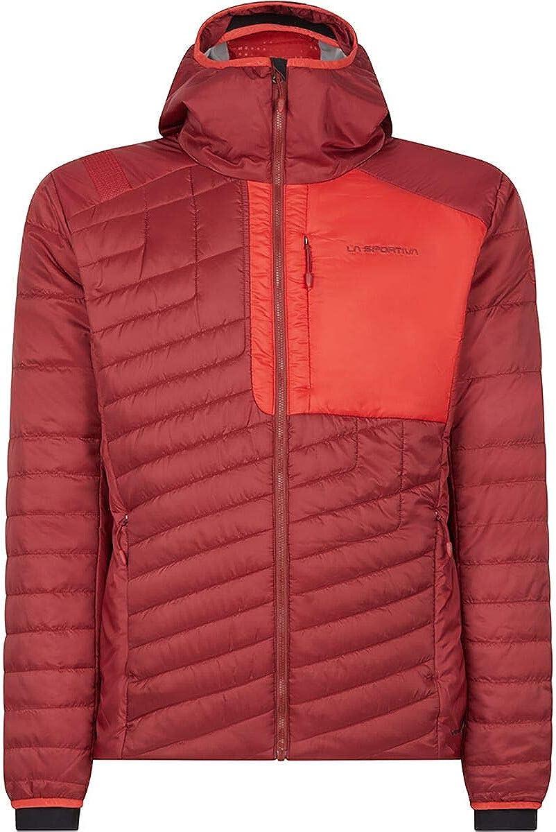 La Sportiva Meridian Primaloft Jacket - Men's, Chili/Poppy, Large, L19-309311-L