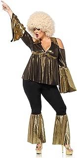 Women's Plus Size Disco Doll 70s Costume