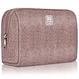 Large Cosmetic & Toiletry Bag, Zippered Makeup Pouch for Women & Girls, Travel Cute Organizer Suitable for Purse, Versatile Bag with Multiple Compartments for Makeup, Toiletries, Pencils, Accessories