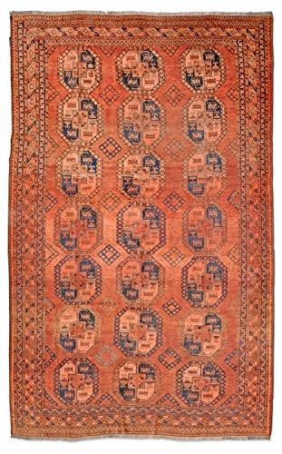 Thomas Ersari Orientteppich | orange - 240 x 323