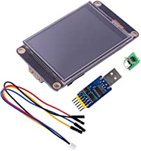Nextion Enhanced 2.8 inch NX3224K028 HMI LCD Touch Screen Display Module+ CP2102 USB to TTL 6-in-1 Serial Module for Arduino Raspberry Pi WIshioT