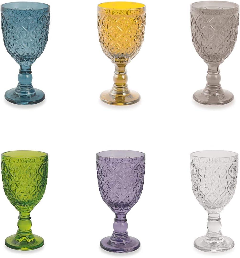 Villa d'Este Home Tivoli 5903650 Marrakech - Juego de 6 copas de cristal