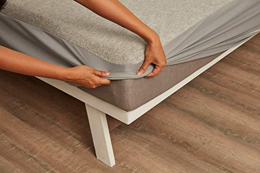 """Wakefit Water Proof Terry Cotton Mattress Protector 72""""x36"""" - Single, Grey 1"""