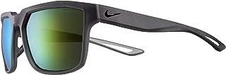Eyewear Men's Nike Bandit M EV0949-013 Square Sunglasses, MATTE ANTHRACITE/BLACK, 59 mm
