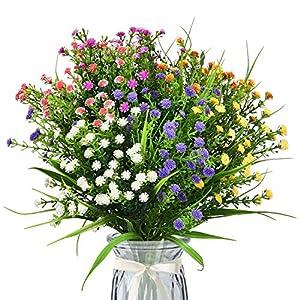 Shiny Flower Artificial Flowers Baby Breath Fake Gypsophila Bouquets Silk Artificial Flowers