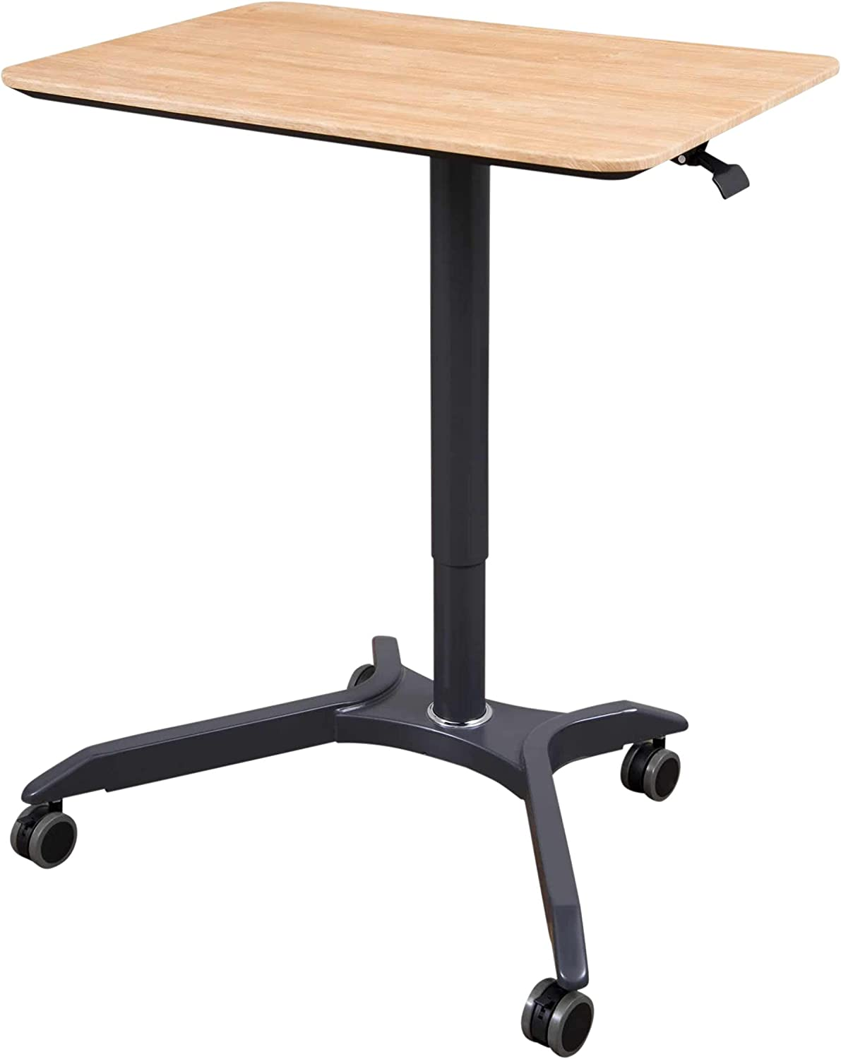 Stand Up Desk Store Ranking TOP2 Pneumatic Mobile Height Same day shipping Rolling L Adjustable