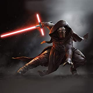 YDD GENIUS Lightsaber Star Wars Kylo Ren Crossguard Saber Led Red Force FX Light Saber for Adult and Kids, Metal Hilt …