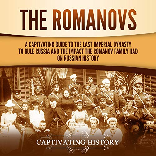The Romanovs  By  cover art