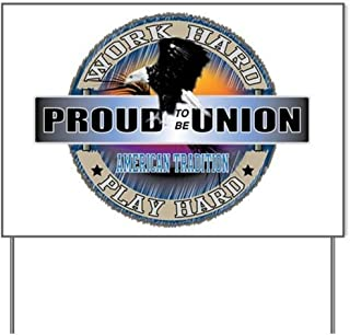 proud union home sign for sale