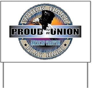 Best proud union home lawn sign Reviews