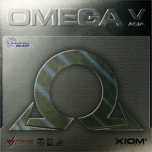 XIOM Omega V Asia Black Max Rubber