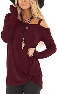 Best burgundy blouse womens Reviews