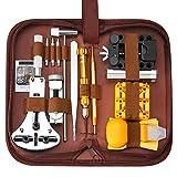 SOONAN Kit de réparation de Montre, 149pcs Ensemble d'outils de Barre de Ressort Professionnel,Outil de réparation Professionnels Remplacement des Pile Outil Removaler