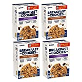 Quaker Breakfast Cookies, Oatmeal Raisin and Oatmeal Chocolate Chip Variety Pack, 6 count in single...