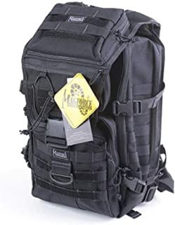 ACSH Tactical Backpack, Outdoor Travel Computer Bag, Military Fan Tactical Backpack, Khaki Gray (Color : Black)