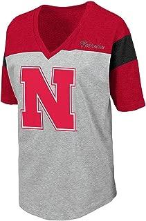 Womens Nebraska Cornhuskers Genoa Short Sleeve Tee Shirt