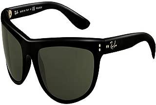 Mens RayBan Balorama Polarized Sunglasses Black/Grey Polarized One Size