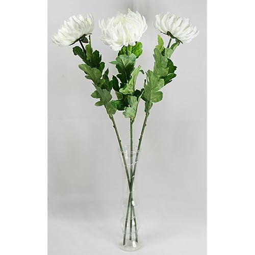 Single Stem Artificial Silk Flowers Amazon