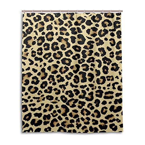 cortinas de baño leopardo