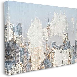 Stupell Industries Urban Distressed New York City Skyline, Designed by Irena Orlov Wall Art, 24 x 30, Canvas