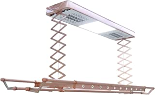 Séchoir électrique rétractable au plafond, Séchage intelligent à température constante / Corde à linge multifonctionnelle ...