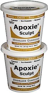 Apoxie Sculpt - 2 Part Modeling Compound (A & B) - 4 Pound, White