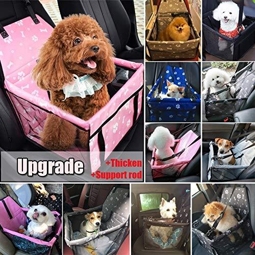 donfhfey827 hond auto drager zitzak waterdichte mand veiligheid reizen gaas opknoping zakken hond stoel tas mand