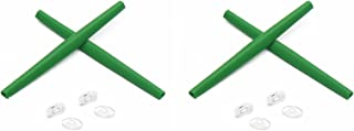 Replacement Earsocks & Nosepieces Rubber Kits for Oakley Whisker Green&Green