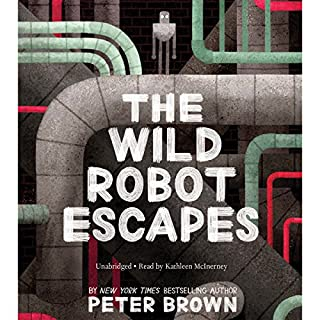 The Wild Robot Escapes audiobook cover art